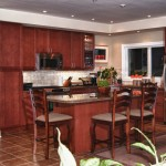 Muskoka golf villa kitchen