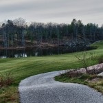 Muskoka golf villa pond view