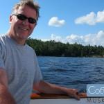 Sailing on Lake Rosseau