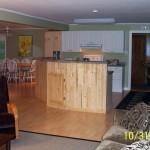 Muskoka cottage kitchen