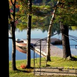 Muskoka cottage dock