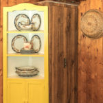 Cottage kitchen built-ins