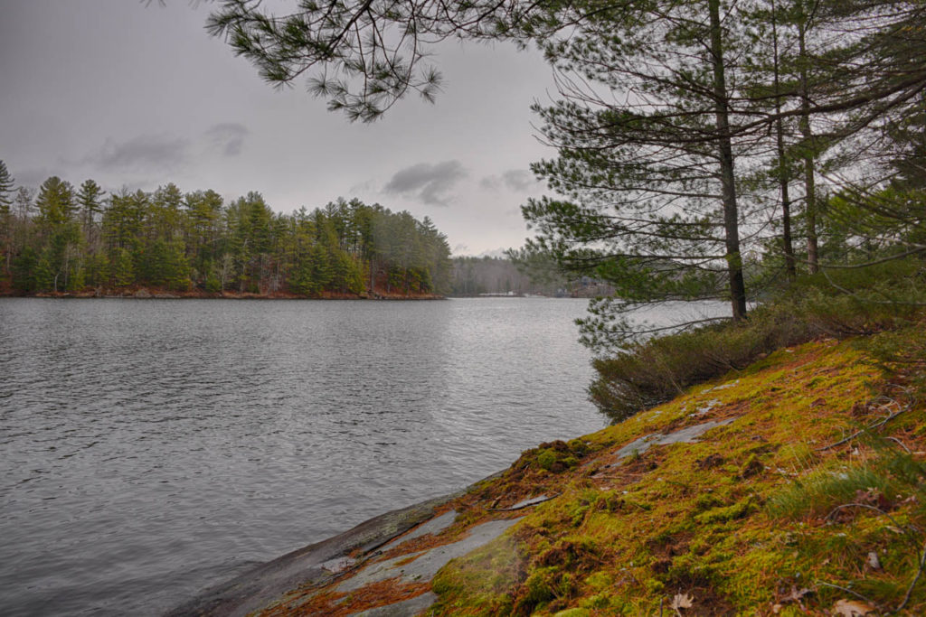 Muldrew Lake waterfront building lot