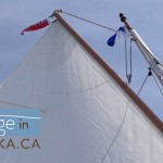 Sailing on Lake Muskoka